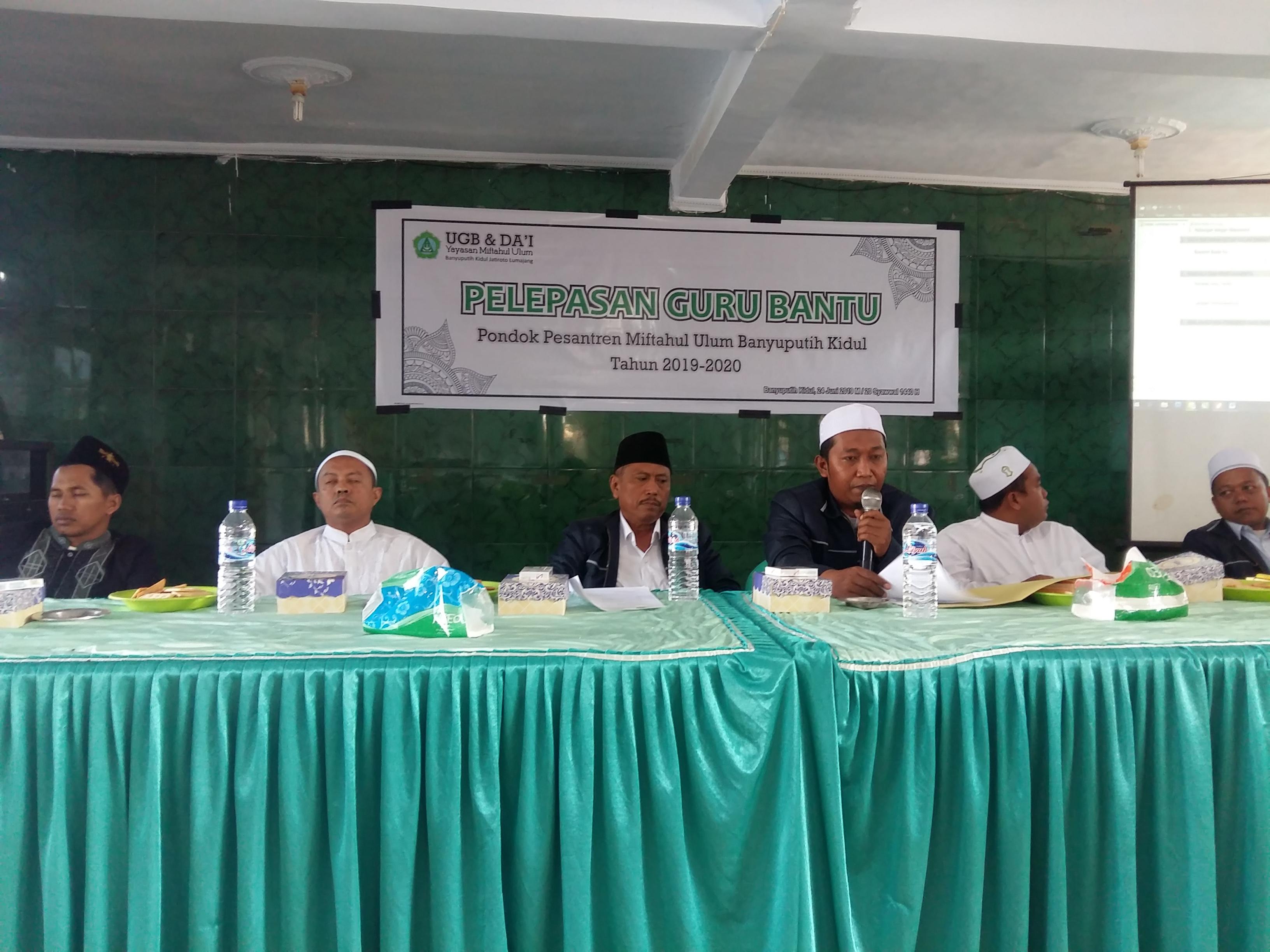 PP. Miftahul Ulum Bakid Berangkatkan 78 Guru Bantu  ke beberapa Pesantren dan Madrasah di Pulau Jawa, Kalimantan dan Batam