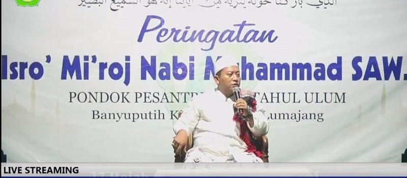 Live Streaming Peringatan Isra' Mi'raj Nabi Muhammad saw Tahun 1441 H di PPMU BAKID